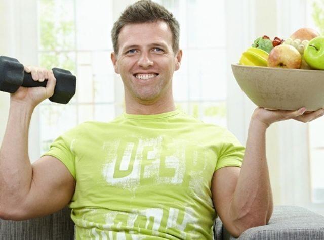 похудение для мужчин как убрать живот